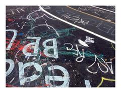 160514_1327_160514 115047_oly_S1_New York (A Is To B As B Is To C) Tags: aistobasbistoc usa newyorkstate newyork roadtrip travel olympus stylus1s color manhattan brooklyn williamsburg williamsburgbridge williamsburgbridgebicyclepath black canvas bikelane abstract city citylife urban graffiti tag tags paint aistoabasbistocusanew yorktriptravelolympusstyluss1