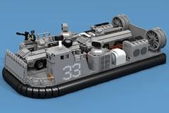 DA3 LCAC (ABS Shipyards) Tags: lego decisive action 3 da3 ship landing craft air cushion lcac hovercraft military