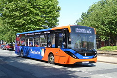 Warrington's Own Buses AD Enviro 200MMC 206 CH58CAT - Warrington (dwb transport photos) Tags: warringtonsownbuses alexander dennis enviro 200mmc bus 206 ch58cat warrington