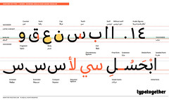 ARABIC TYPE ANATOMY (TypeTogether) Tags: arabictypeanatomy arabictype arabic adellesansarabic azzaalameddine typetogether