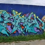 Graffiti, Aytré, mur DBMA thumbnail