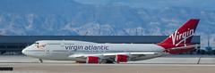 Virgin Atlantic 747 taxiing at KLAS (Alaskan Dude) Tags: travel las klas mccarren mccarreninternationalairport planespotting airplanes airliners airliner aviation planewatching
