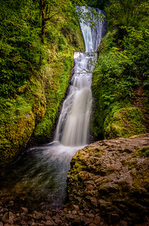 Bridal Veil in the Gorge