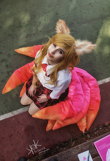 League of Legends School Days Group Cosplay Photoshoot, by SpirosK photography: Ahri