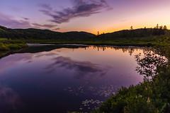 Chanteclair (Yves Gauvreau) Tags: sunset nature water world100f landscape