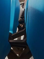 seats (markgodfrey1) Tags: london olympic stadium seats stand blue