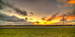A lonesome lantern taking in the sunset. (Alex-de-Haas) Tags: 11mm d850 dutch hdr holland irix nederland nederlands netherlands nikon noordholland schoorldam avond beautiful beauty cloud clouds evening hemel landscape landschap longexposure lucht mooi skies sky sundown sunset winter wolk wolken zonsondergang