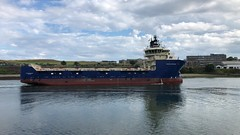 Grampian Sovereign - Aberdeen Harbour Scotland - 22/7/2018 (DanoAberdeen) Tags: metal maritime merchantnavy mpeg merchantships amateur aberdeenscotland autumn aberdeen abdn abz aberdeencity aberdeenharbour scotland spring scottish scotia seafarers schotland shipspotting ships seaport summer danoaberdeen danophotography docks candid clouds cargoships cityofaberdeen northsea northseasupplyships northeast bluesky boats bonnie bonnyscotland vessels vessel video iphonevideo iphone8plus 2018 ecosse escotia riverdee river winter water workboats wasser schip uk imo tug transport tugboat torry tanker offshore offshoreships oilships oilrigs supplyships seascape seasalt sailor footdee fittie pocraquay grampiansovereign northstarshipping watercraft