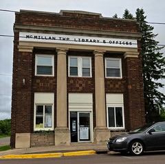 McMillan Township Library, Ewen, MI (Robby Virus) Tags: michigan mi up upper peninsula ewen mcmillan township library offices building architecture twp municipal government