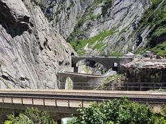 Devil's Bridge, over Reuss (k.atkos) Tags: göschenen uri switzerland ch