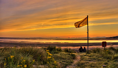 sunset Wales (Körnchen59) Tags: sunset sonnenuntergang wales barmouth küste beach körnchen59 elke körner sony 5000