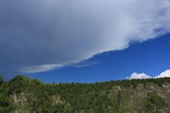 orage (bulbocode909) Tags: valais suisse ovronnaz luidaoût montagnes nature printemps orages nuages ciel forêts arbres vert bleu paysages groupenuagesetciel