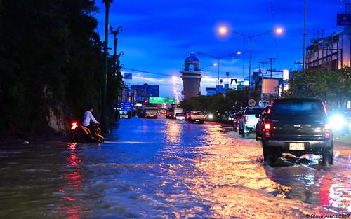 Flooding in Petchaburi