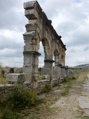 Volubilis, Roman ruins, Morocco (Mulligan Stu) Tags: arch decumanusmaximus archofcaracalla berber romanruins unesco morocco unescoworldheritagesite roman maroc volubilis