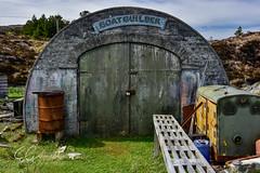 THE BOAT BUILDER (EAGarrett Photography) Tags: boatbuilder isleofharris harris outerhebrides westernisles goldenroad boat scotland visitscotland travelscotland scottishislands islandlife abandoned