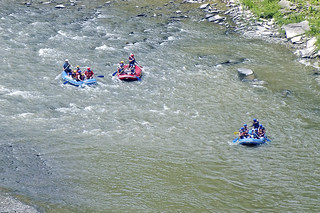 Letchworth Gorge, Navigating Great Bend Whitewater
