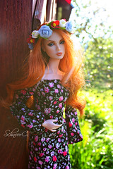 sunset in the country (КристинаCristina) Tags: integrity toys fashion royalty eden style mantra doll dollphotographer dollcollector barbie summer