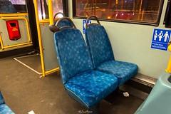 Arriva London, Route 410, PDL129 LJ56 ARZ Bus Interior, 14th February 2017 (4) (LFaurePhotos) Tags: arrivalondon londonbynight pdl129 crystalpalace interior lfaurephotos londonbus route410 southeastlondon lj56arz
