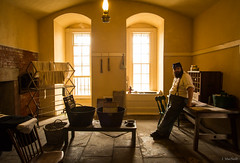 Fort Delaware (Jen MacNeill) Tags: fort delaware civilwar era history historic site american us usa man men light soldier reenactor interpreter