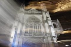 A little ICM fun (Snorkle-suz) Tags: church cathedral longexposure lightpainting icm nz newzealand aotearoa canoneos600d canonrebelt3i canonkissx5 1855mm 18to55mm intentionalcameramovement otago light movement