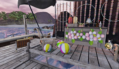 #33- Dock Party (Rhea's Rooms) Tags: goose peaches uber tlc theliaisoncollaborative cosmopolitan secondlife sl