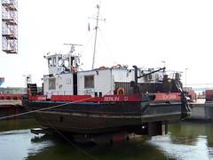 2434 (ENI 05603720) (Parchimer) Tags: schubboot pushboat towboat pousseur pchacz duwboot spintore empurradorfluvial binnenschiff tolómotorhajó pushertug stralsund volkswerft
