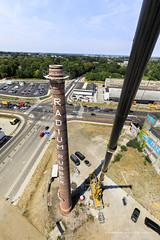 Restauratie Radiumschoorsteen - foto: Fred Berghmans (Belvedere Maastricht) Tags: elvédère maastricht radium hetradium fabrieksschoorsteen fabrieksschoorstenen schoorsteen schoorstenen industrieelerfgoed