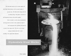 Clydesdale Steelworks 1965 (JimGer947) Tags: clydesdale steelworks steel works road bellshill mossendtube ingot ingots mill pilger process no1 no2 rotary forge chemical laboratory john fisher andy reid overton baptist church open heath furnace reheating threading weeman charger hydraulic piercing bottlesizing millcoupler thread protection special joints oswald street glasgow quality control inspection arl applied research laboratories quantometer oil pipeline pipelines