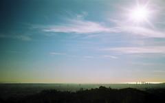Bokeh LA (tobysx70) Tags: fujifilm 100 35mm 135 negative film contax t2 rollfilmweek july 2018 bokeh la griffith observatory los angeles california ca view vista cityscape pacific ocean skyscraper oufoffocus toby hancock photograph