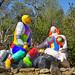 Le Choix  (Le Jardin des Tarots de Niki de Saint Phalle à Capalbio, Italie)