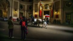 Horse Drawn Carriage, Vienna, Austria, (emptyseas) Tags: spanish riding school entrance hofburg imperial palace habsburgs michaelerplatz horse drawn carriage vienna austria emptyseas nikon d800 sisi museum