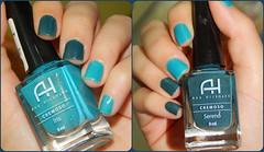Letra A: Ana Hickmann - Íris e Sereno (Letícia Bertoncello) Tags: ana hickmann sereno íris nails unhas mãos