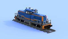 SU42-1001 PKP Intecity (Mateusz92) Tags: lego afol zbudujmyto newag pkp intercity train su42