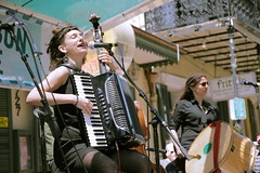 French Quarter Fest 2018 - Blato Zla - Lou Carrig, Boyanna Trayanova