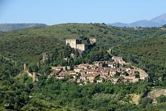 Castelnou (mchub) Tags: village france castelnou occitanie pyrénéesorientales hx400v languedocroussillon