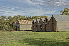 Old goods sheds at the former Casterton Railway Station. (darrylkirby) Tags: sheds architecture oldbuildings rural