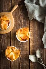 Gooseberry custard phyllo pie (Malgosia Osmykolorteczy.pl) Tags: food foodie foodphoto foodstyling fotografia foodphotography foodporn foodstylist feed dessert gooseberry phyllo custard