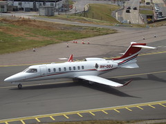 9H-DDJ Learjet 75 Global Flight Solutions (Aircaft @ Gloucestershire Airport By James) Tags: luton airport 9hddj learjet 75 global flight solutions bizjet eggw james lloyds