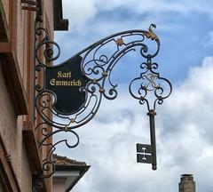 Amorbach Schild (wernerfunk) Tags: zunftzeichen schild ironsign werbeschild