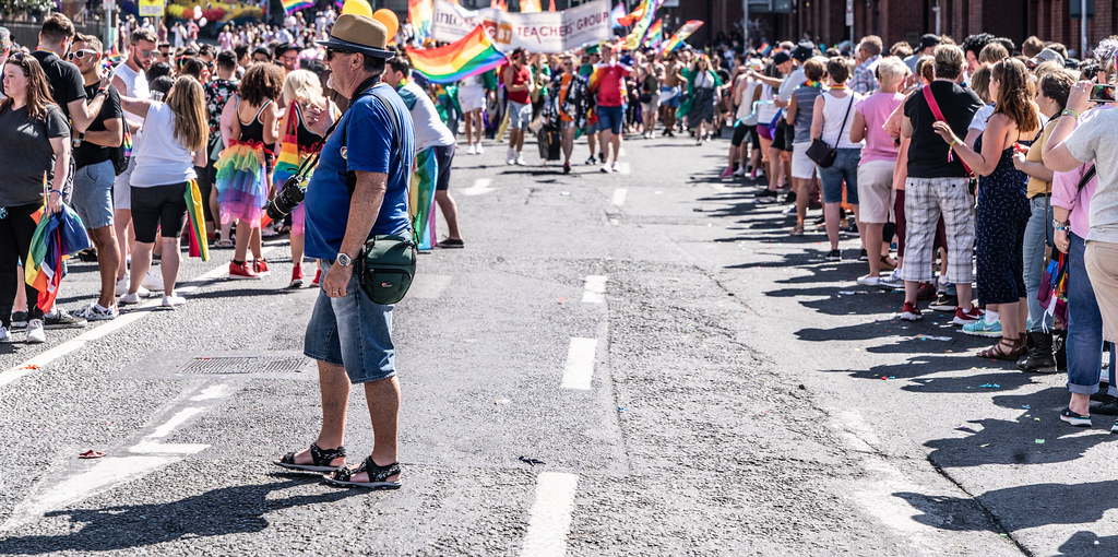 ABOUT SIXTY THOUSAND TOOK PART IN THE DUBLIN LGBTI+ PARADE TODAY[ SATURDAY 30 JUNE 2018] X-100261