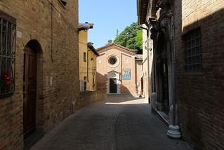 Oratorio di San Giovanni Battista - Urbino (UNESCO World Heritage site 1998)