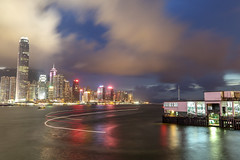 #hong kong #victoria habor #landscape #canon 5d3 #canon 24-105 #night scene (days77) Tags: canon landscape hong victoria night