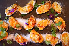 Oysters! (corineouellet) Tags: tasty yummy art plating cooking cook canoncanada canonphoto canon foodiesalut foodie food good oyster oysters