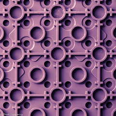 Purple (Thad Zajdowicz) Tags: zajdowicz pasadena california macro closeup primelens 100mm canon eos 5dmarkiii 5d3 dslr digital availablelight lightroom indoor inside color light shadow abstract squate 1x1 pattern lego plastic lines circles toy geometric purple colour