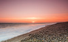 Sunset at Chesil Beach 18/04/18 (R M Photography) Tags: nikonfxshowcase nikon d3300 tokina tokina1116mm tokina1116 inspiredbylove sunset sun sky chesil chesilbeach weymouth dorset beach waves