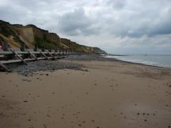 The beach near Sheringham (JonCombe) Tags: norfolk coastwalk208 sheringham cromer salthouse coast path england norfolkcoastpath englandcoastpath