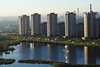 Morning view (donnicky) Tags: saintpetersburg city cityscape daylight highangleview lake landscape morning nature nopeople outdoor park publicsec residentialbuilding summer viewfrombalcony water паркгероевпожарных