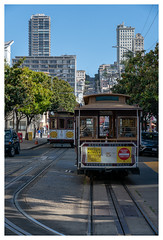 Cable Cars at Fishermans Wharf (Paulemans) Tags: fishermanswharf paulderoode paulemans 2018usavacation california sanfransisco cablecar sonyfe424105goss