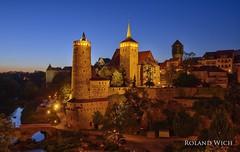 Bautzen (Rolandito.) Tags: germany deutschland allemagne alemania germania sachsen bautzen blue hour dusk twilight abend evening turm türme tower towers