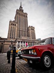 Warsaw - -3200500 (Neil.Simmons) Tags: poland warsaw palac kultury palackultury palaceofculture lada fiat fiat500